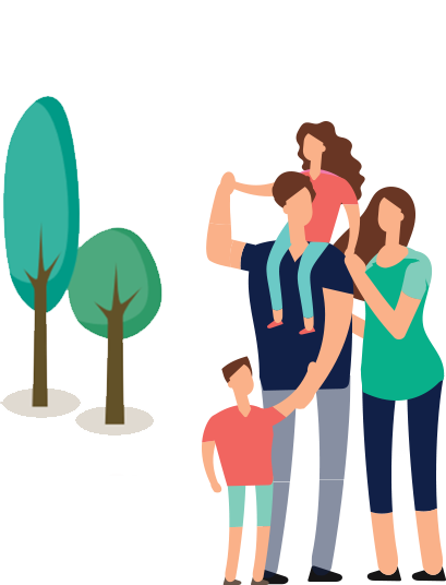 family-with-tree