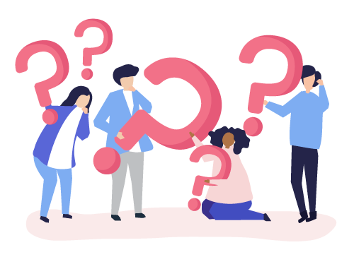 People with questions