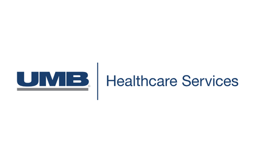Logo of UMB healthcare services.